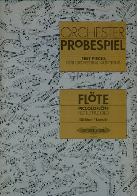 Test Pieces for Orchestral Auditions (Flute and Piccolo)