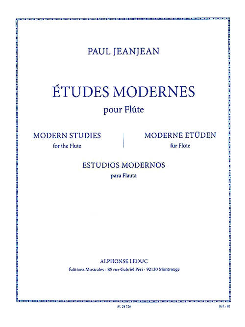 Modern Studies for the Flute
