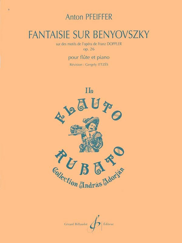 Fantaisie sur Benyovszky, Op. 26 (Flute and Piano)