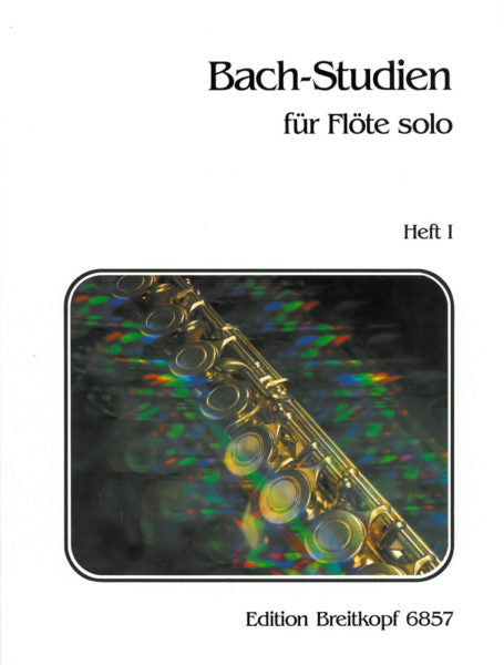 Bach-Studies for Flute; Volume 1 (Flute Alone)
