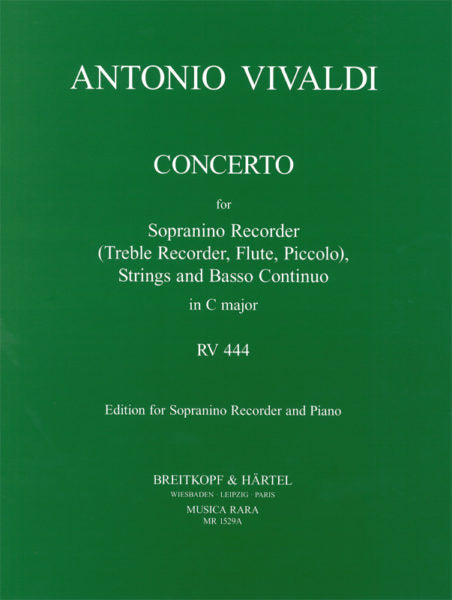 Concerto in C major, RV 444 (Full Score)