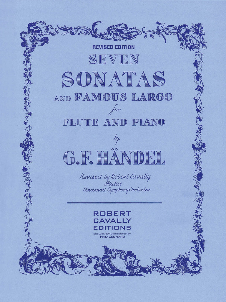 Flute Sonatas (7) and Famous Largo (Flute and Piano)