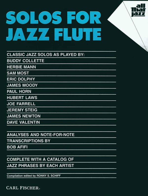 Solos for Jazz Flute (Popular Arrangements)
