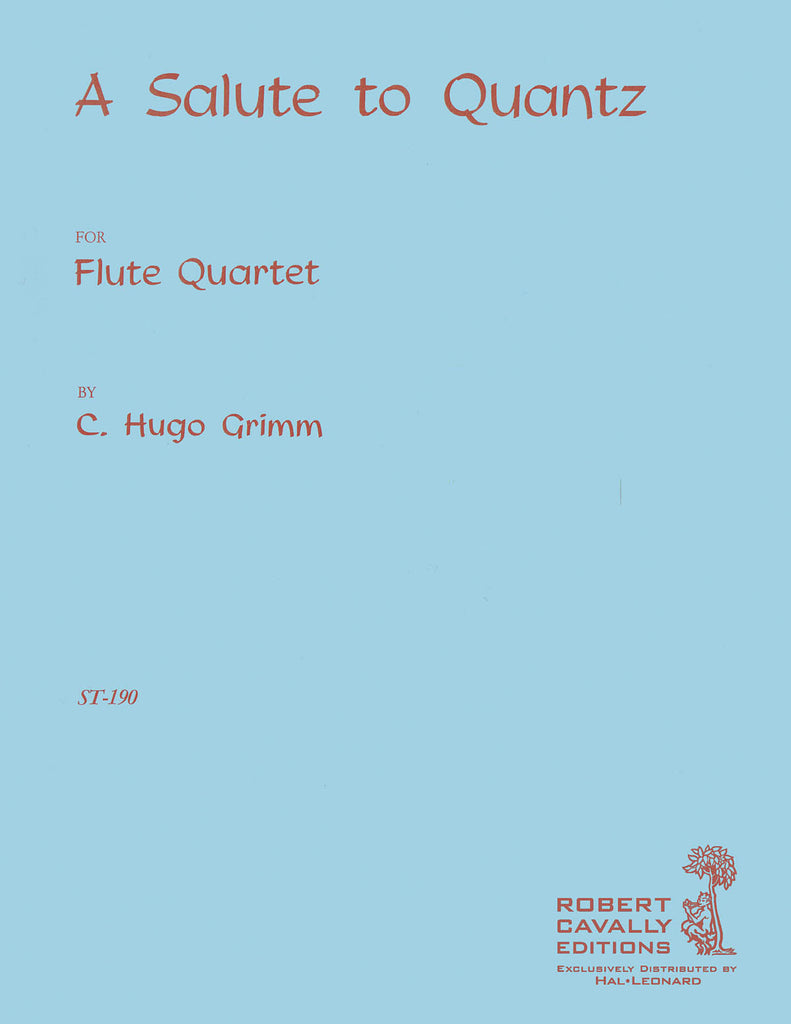 Salute to Quantz (Four Flutes)