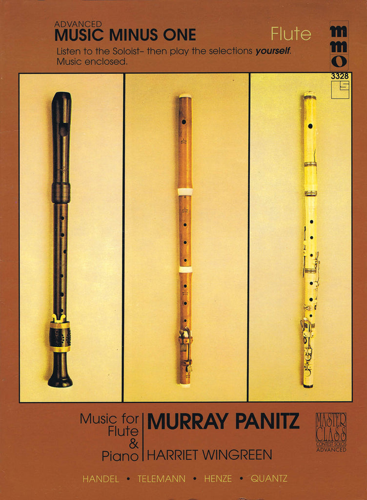 Music for Flute and Piano, Volume 3 - Handel, Telemann, Henze, and Quantz (Flute and Piano)