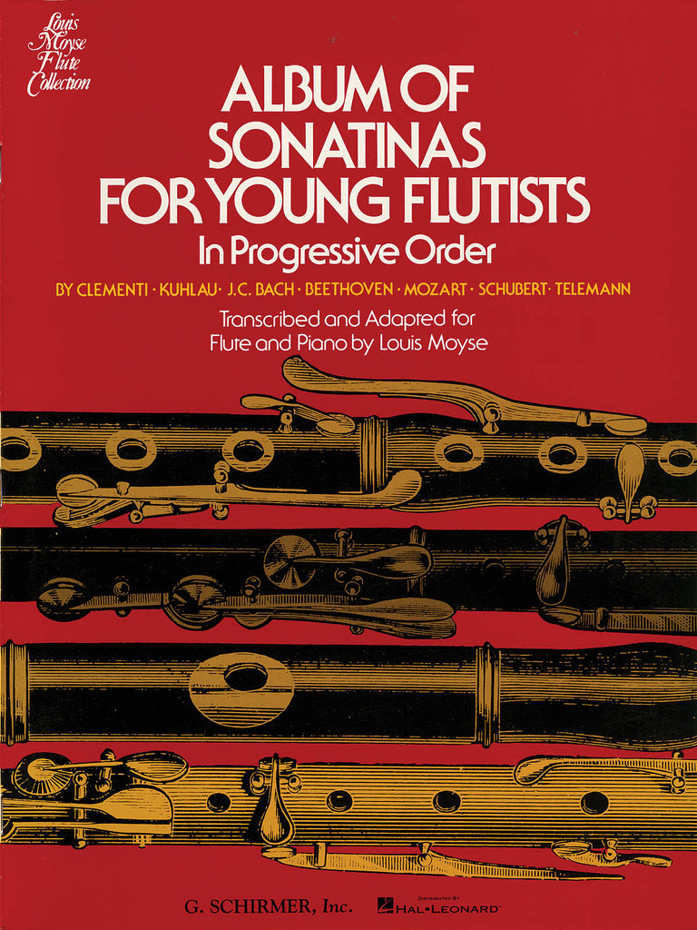 Album of Sonatinas for Young Flutists In Progressive Order (Flute and Piano)