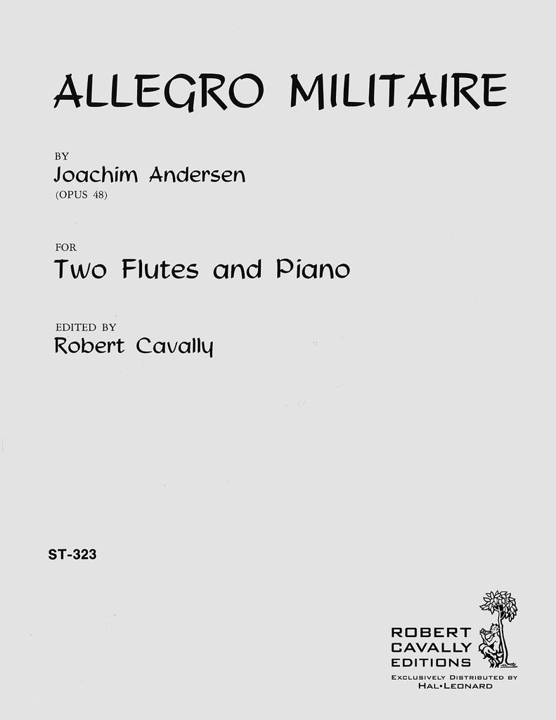 Allegro Militaire (Two Flutes and Piano)
