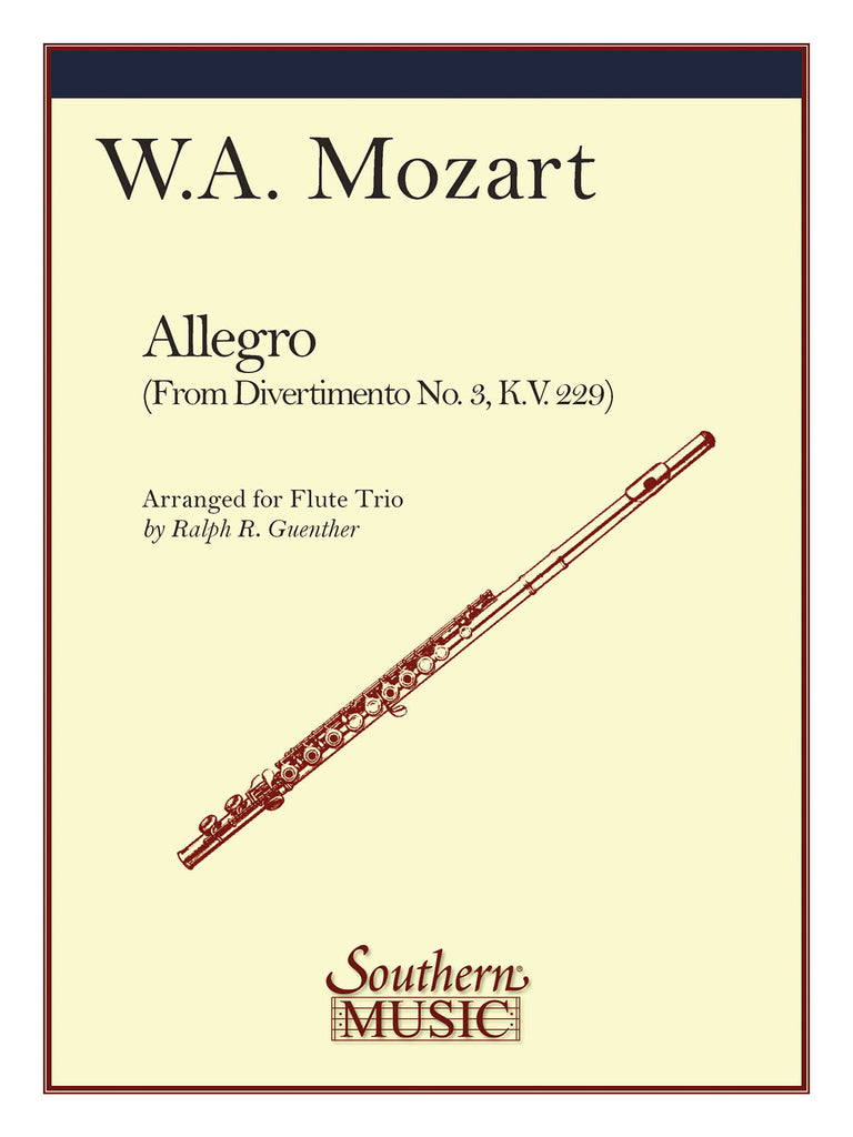 Allegro (Three Flutes)