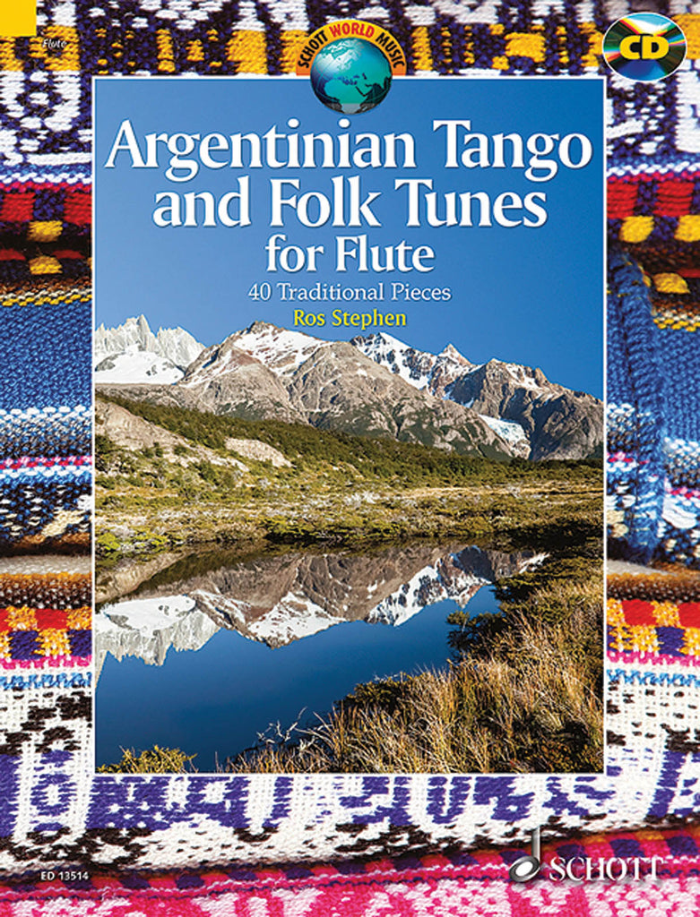 Argentinian Tango and Folk Tunes (Flute Alone with CD)