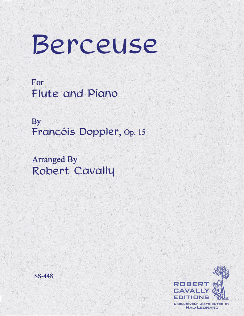 Berceuse, Op. 15 (Flute and Piano)