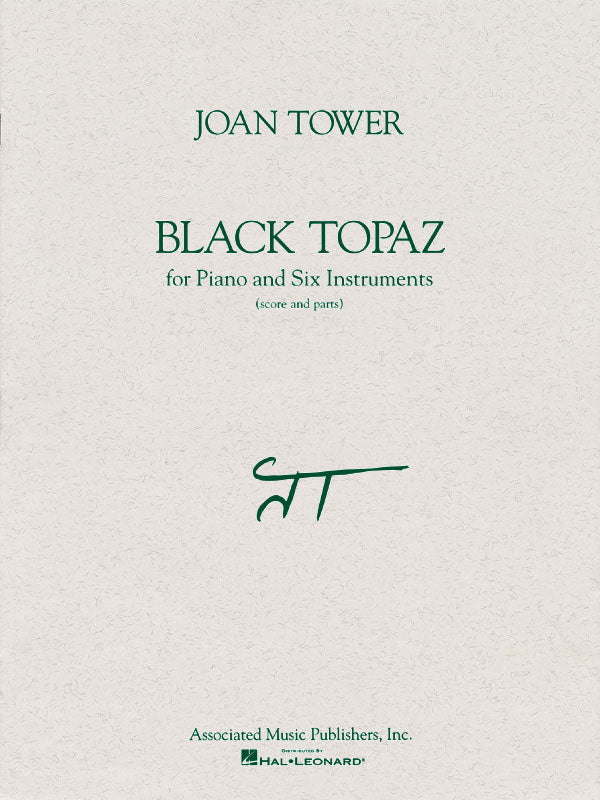 Black Topaz (flute, clarinet, trumpet, trombone, piano, 2 percussion)