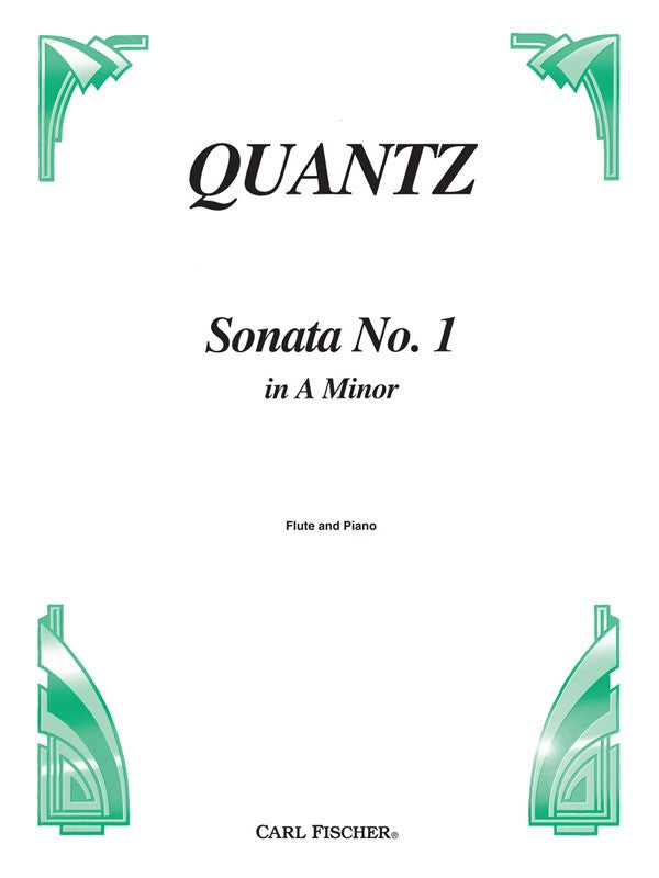 Sonata No. 1 in A Minor (Flute and Piano)