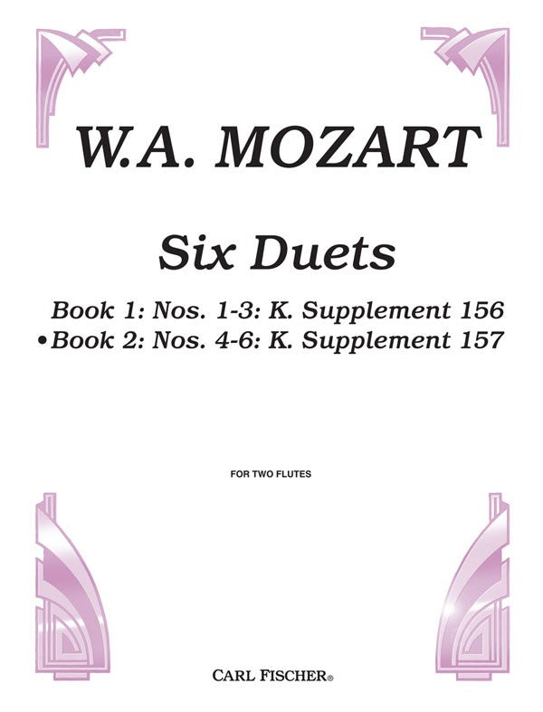 Six Duets, Opus 75, Book 2
