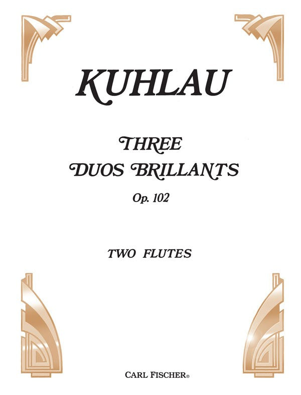 Three Duos Brilliants, Opus 102