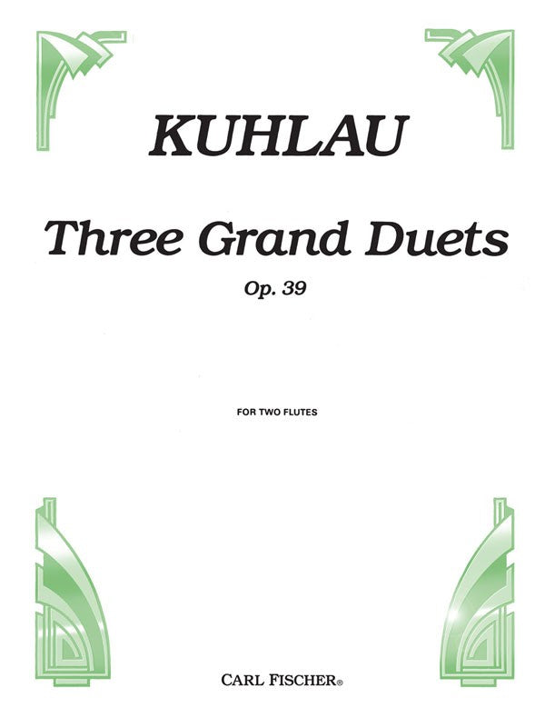 Three Grand Duets, Opus 39