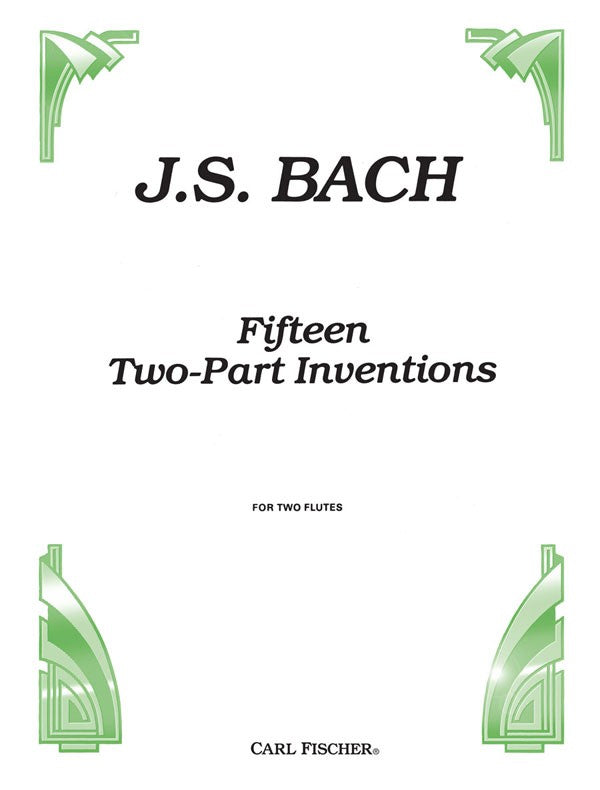 Fifteen Two Part Inventions (Two Flutes)
