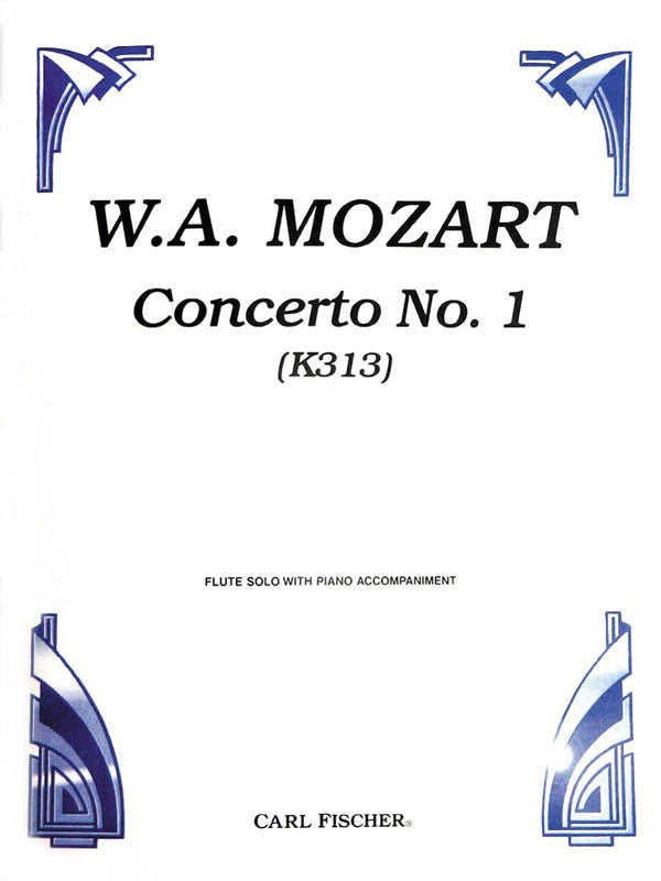 Concerto No. 1 in G Major, K313 (Flute and Piano)
