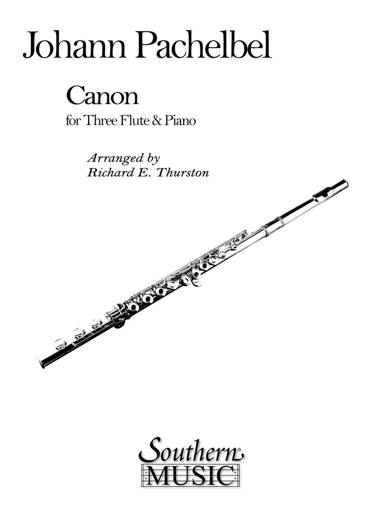 Canon (Three Flutes and Piano)