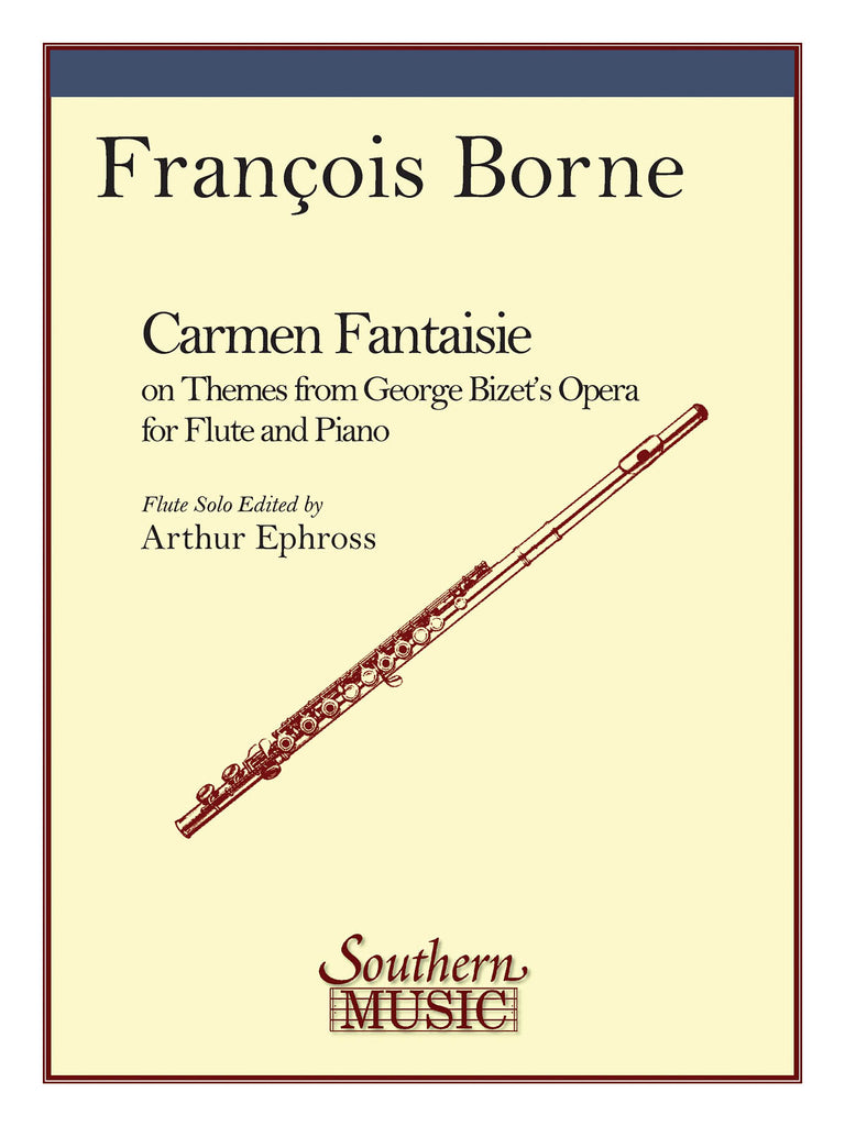 Fantaisie Brilliante on Themes from Bizet's Carmen (Flute and Piano)