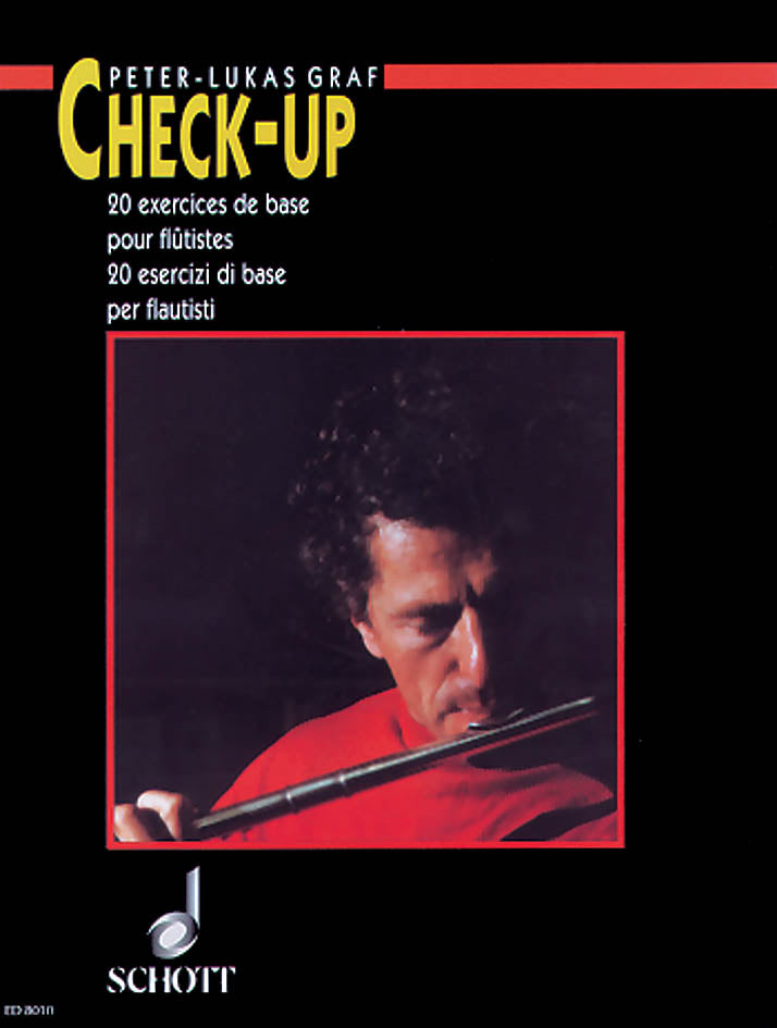 Check-up - 20 Basic Studies for Flautists
