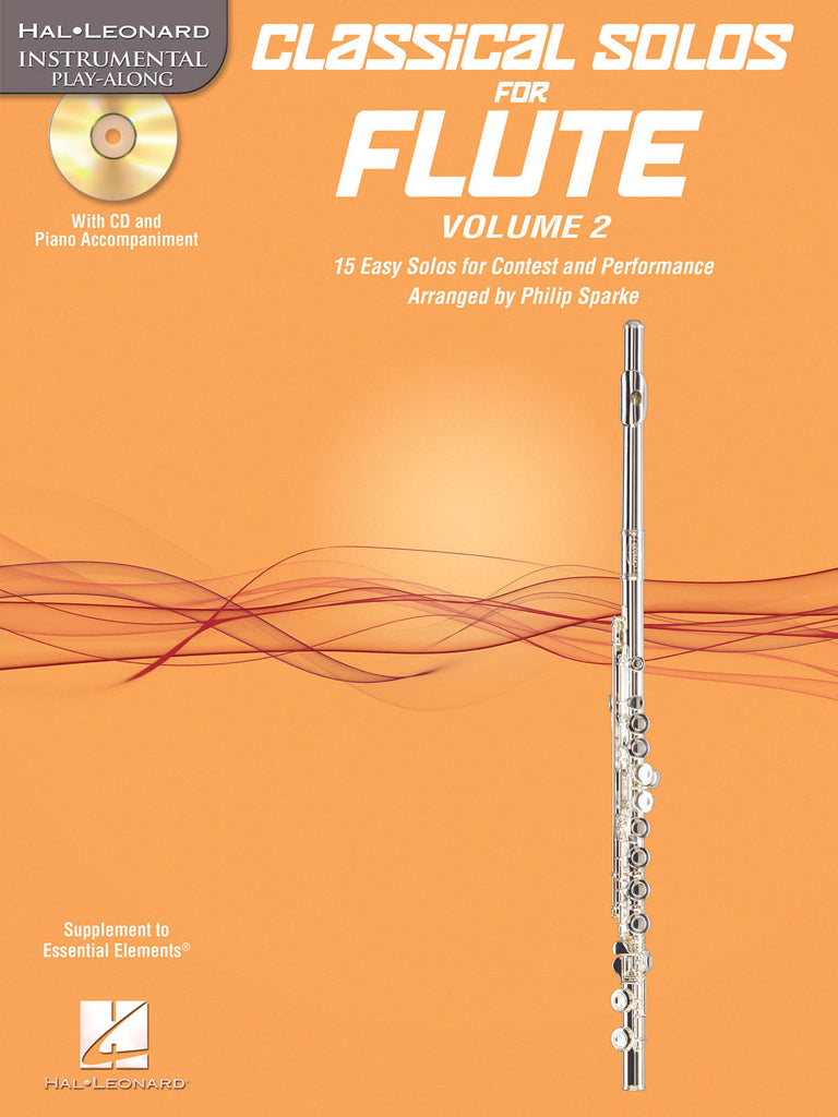 Classical Solos for Flute, Vol. 2 (Flute and Piano)