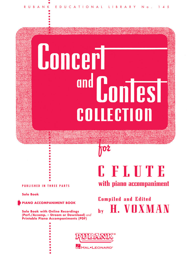 Concert and Contest Collection (Piano Acc't Only)