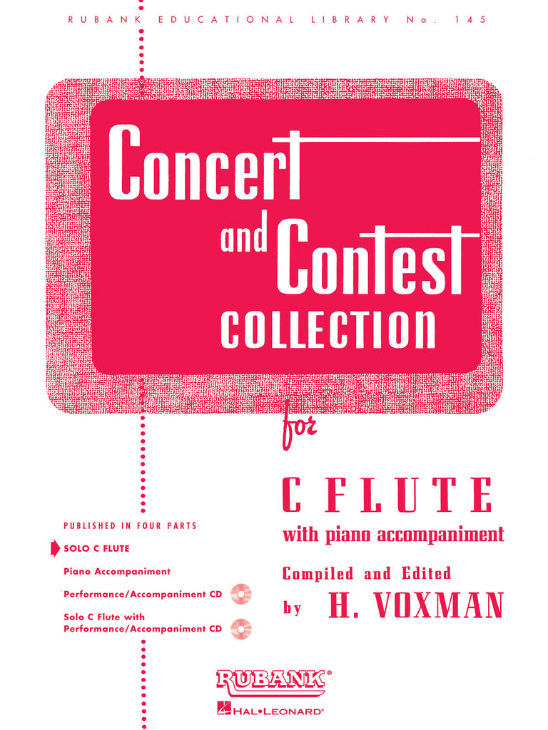 Concert and Contest Collection (Flute Solo Part Only)
