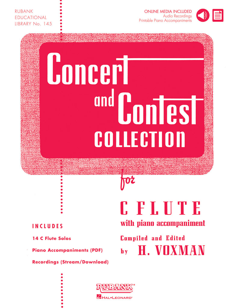 Concert and Contest Collection (Solo Book w/CD Acc't)