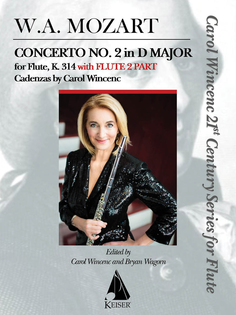 Concerto No. 2 in D Major, K314 (with flute 2 part) (Flute and Piano)