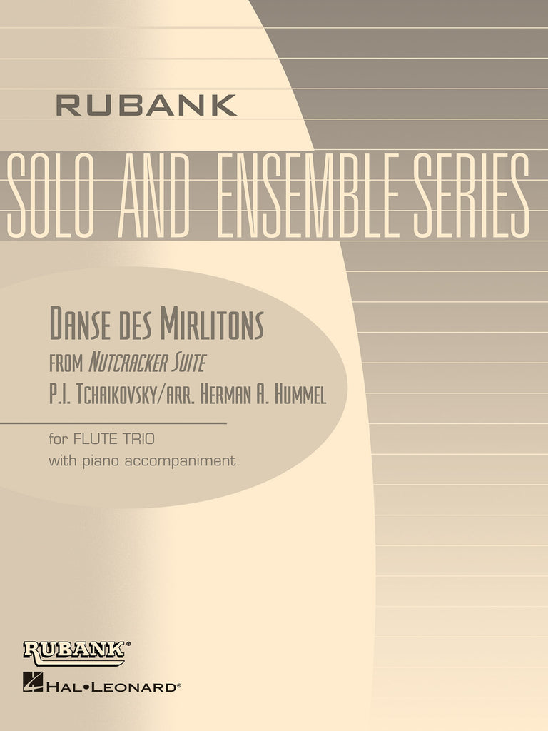 Danse des Mirlitons (from The Nutcracker Suite) (Three Flutes)