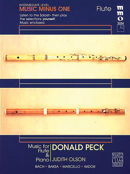 Music for Flute and Piano, Volume 2 - Bach, Baksa, Marcello, and Widor (Flute and Piano)