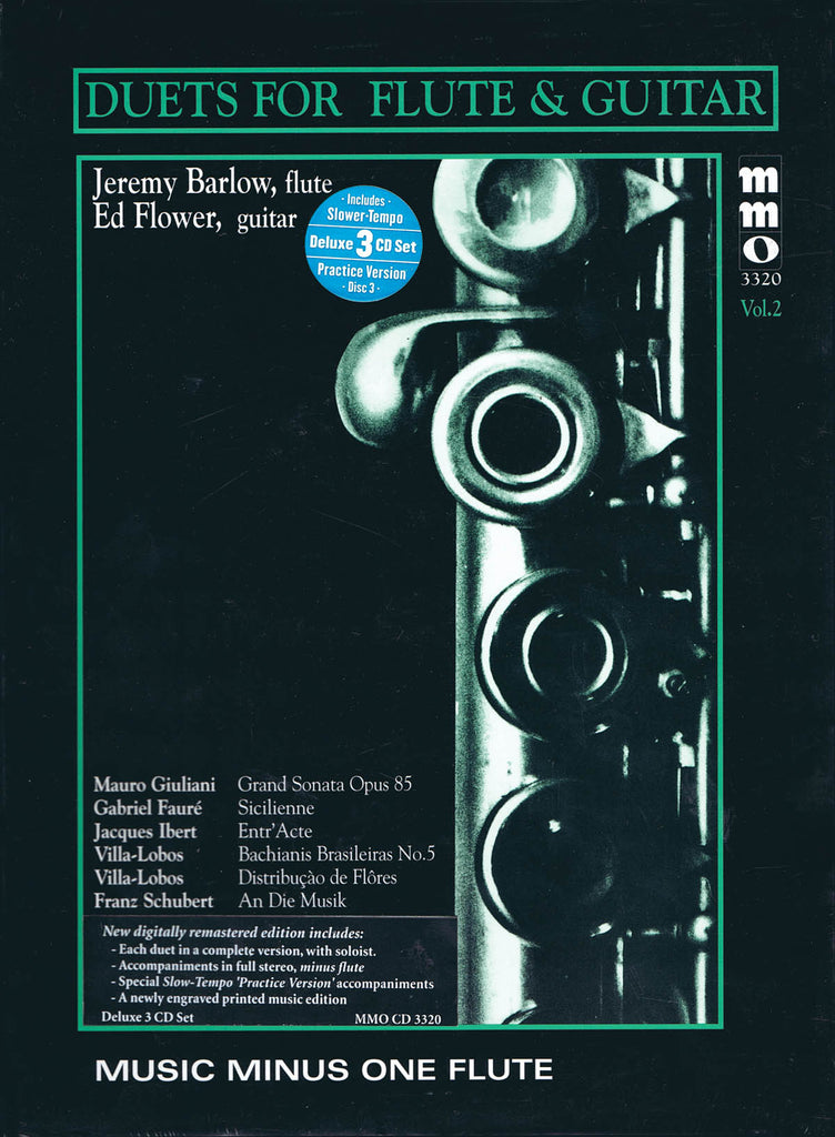 Duets for Flute & Guitar – Vol. 2, Deluxe 3-CD Set