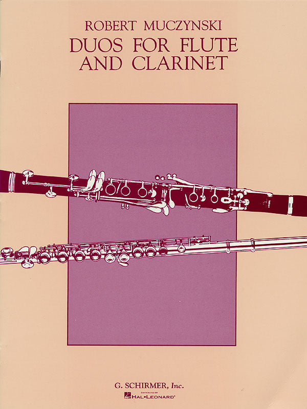Duos, Op. 24 (Flute and Clarinet)