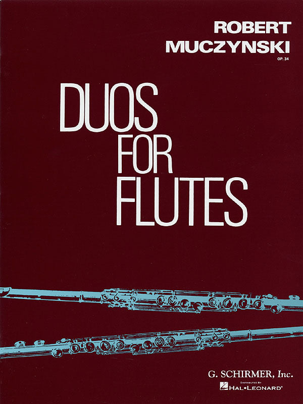 Duos, Op. 34 (Two Flutes)