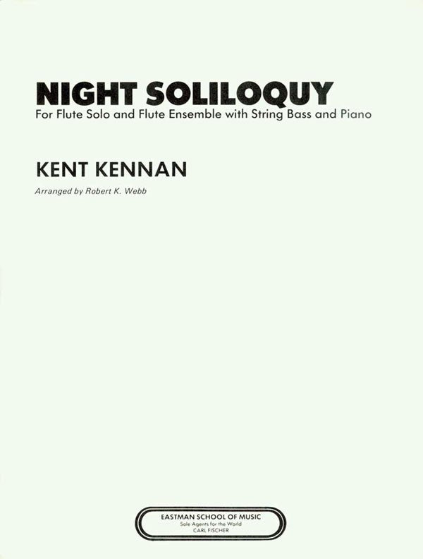 Night Soliloquy (Flute and Ensemble)