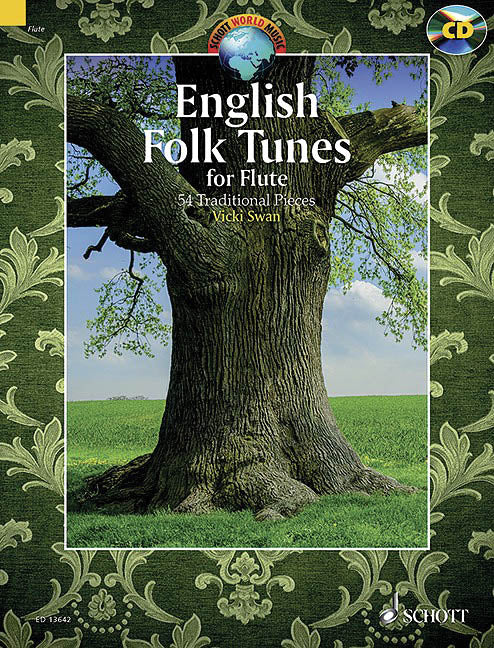 English Folk Tunes for Flute (Two Flutes)