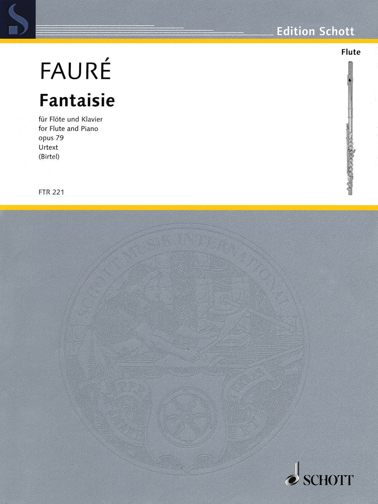 Fantaisie, Op. 79 - Urtext (Flute and Piano)