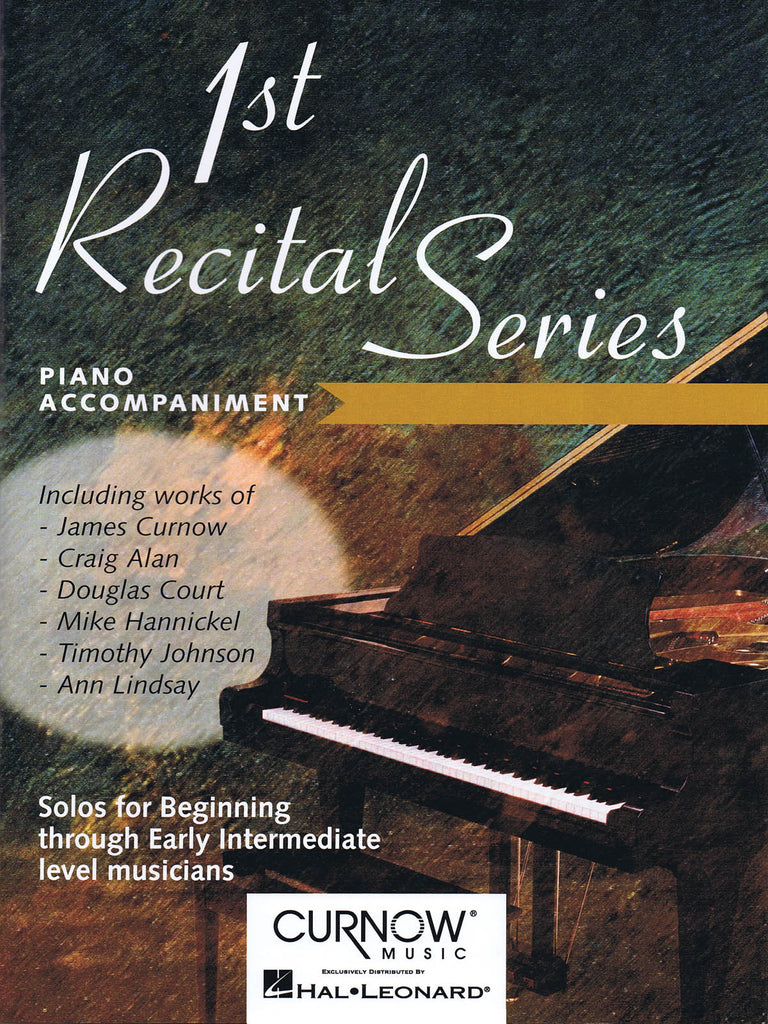 First Recital Series - (Piano Acc't Only)
