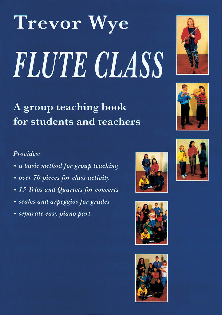 Flute Class - A Group Teaching Book for Students and Teachers