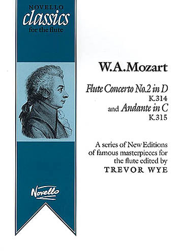 Concerto No. 2 in D Major, K314 and Andante in C Major, K315 (Flute and Piano)