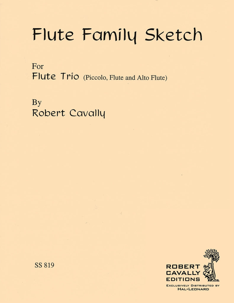 Flute Family Sketch (Three Flutes)