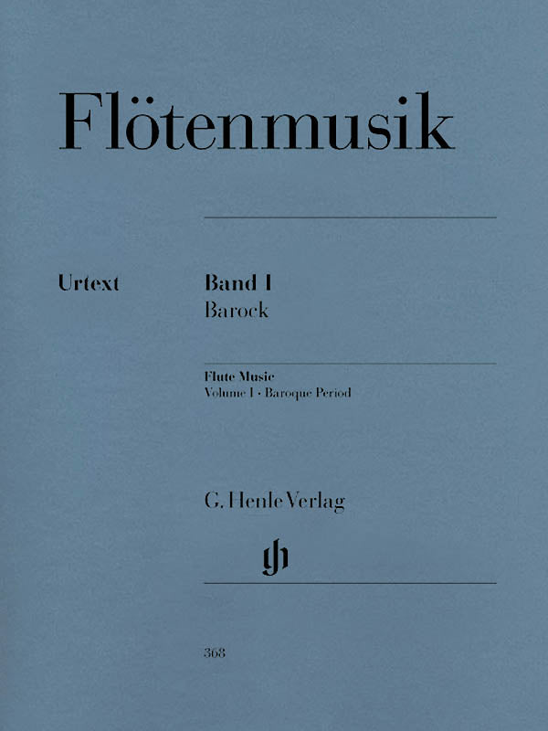 Flute Music Volume 1 - Baroque Period (Flute and Piano)