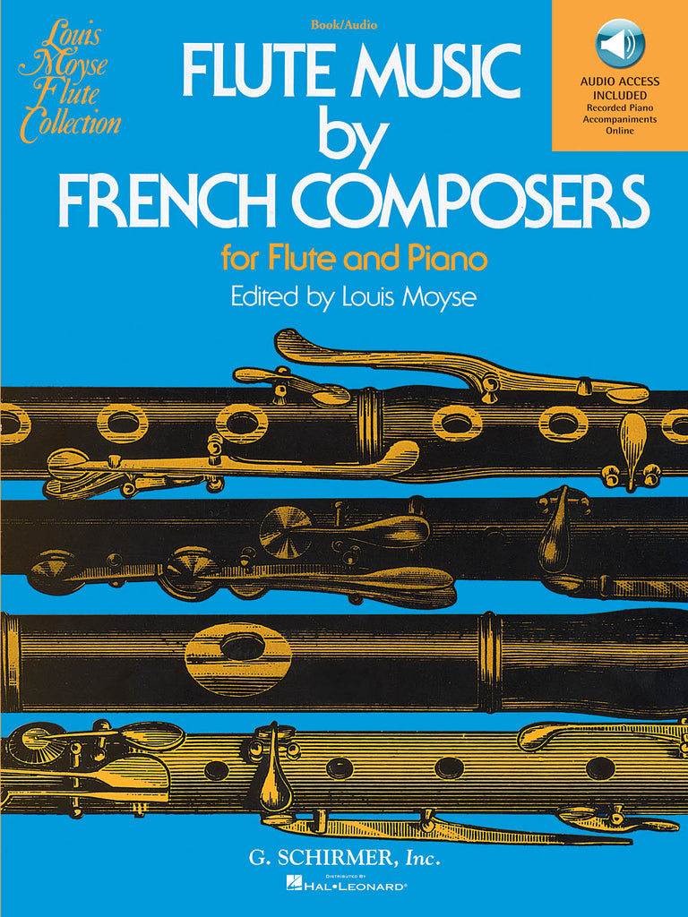 Flute Music by French Composers (w/CD Acc't) (Flute and Piano)