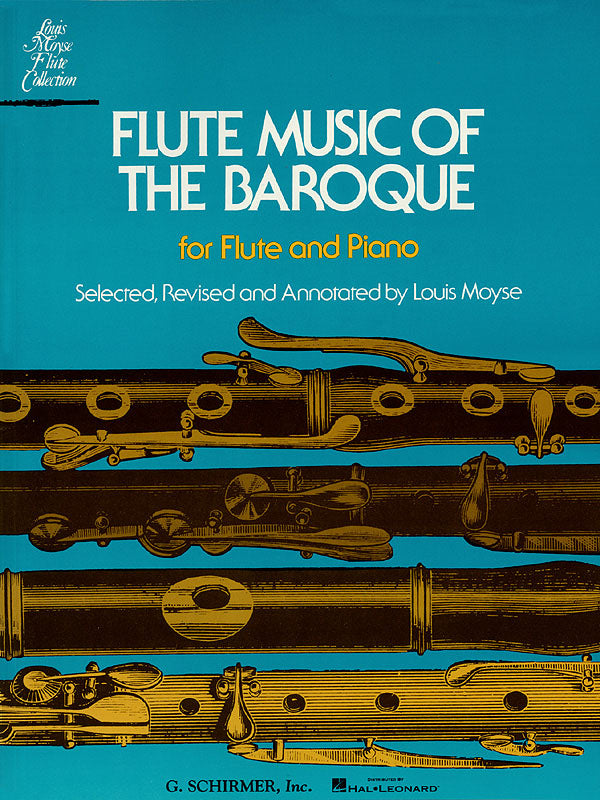 Flute Music of the Baroque (Flute and Piano)