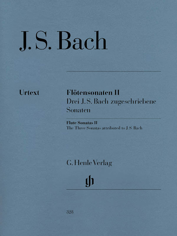 Flute Sonatas – Volume 2; Three Sonatas attributed to J.S. Bach (Flute and Piano)