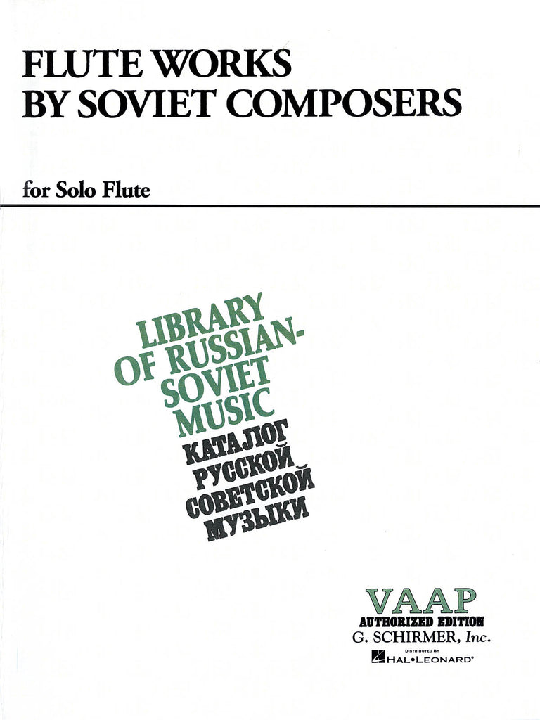 Flute Works by Soviet Composers (Flute Alone)