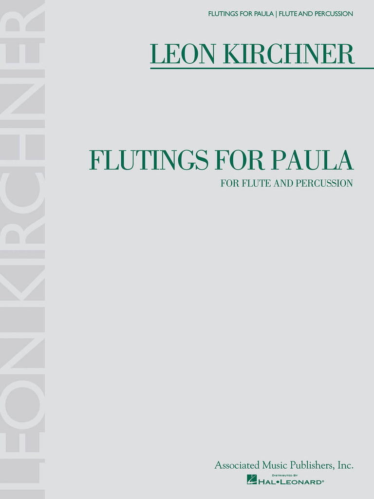 Flutings for Paula (Flute and Percussion)