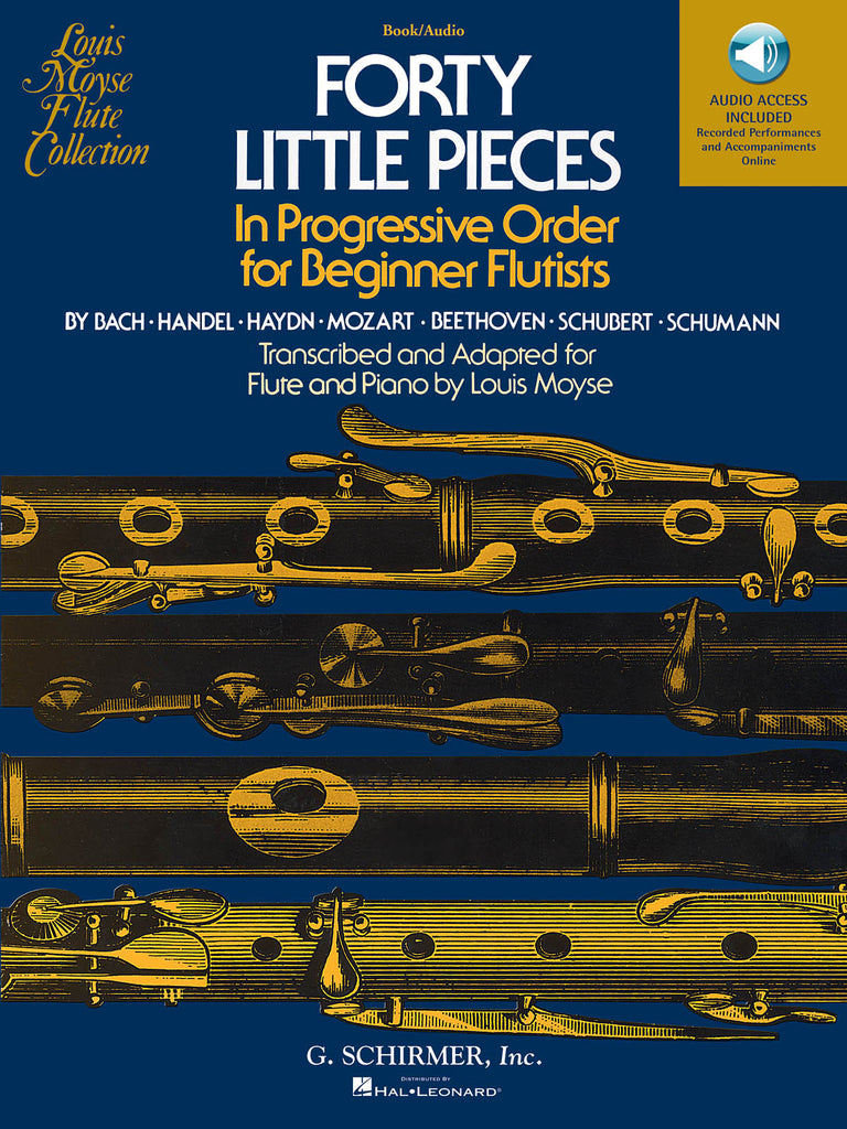 40 Little Pieces (Flute and Piano)