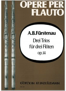 Three Trios for Three Flutes, Op. 14 (Three Flutes)