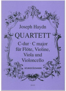 Flute Quartet in C Major (Flute, Violin, Viola, and Cello)